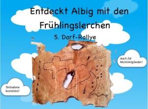 Entdeckt Albig mit den Frühlingslerchen (5. Dorf-Rallye)