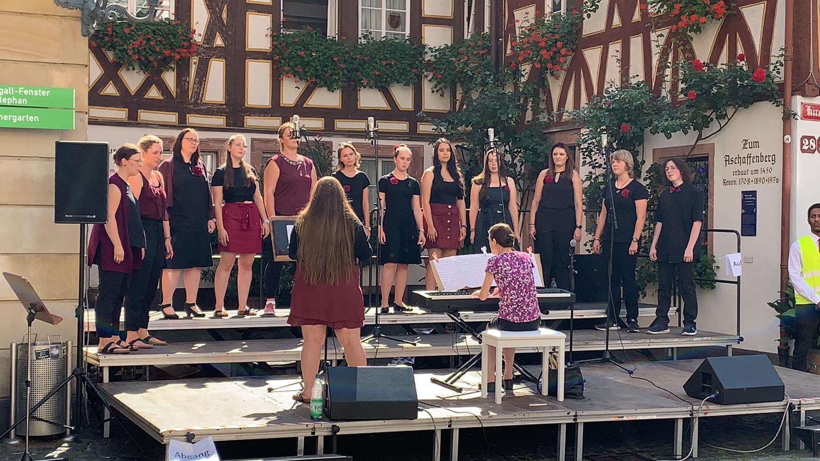 Skylarks singen beim Landeschorfest in Mainz