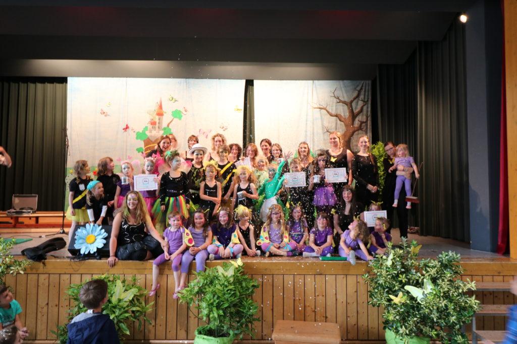 Albiger Frühlingslerchen führen Musical auf